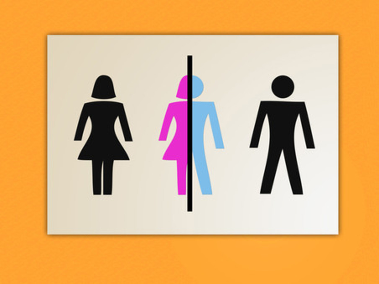 A Gender Bender Bathroom Sign - CONTEST